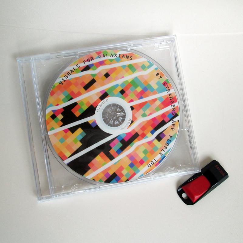 Galaxians tour visuals DVD & stick