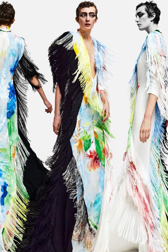 20. La Robe Peinture à Franges