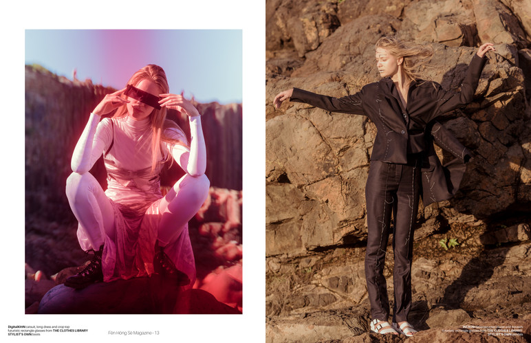 Issue 8_Fen Hong Se Magazine_Tear Sheets
