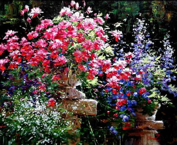 Pair of Flowerpots