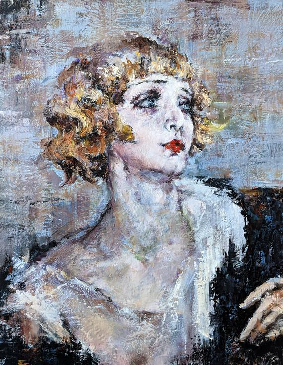 """Study of Nicolai Fechin's """"Princess"""""""