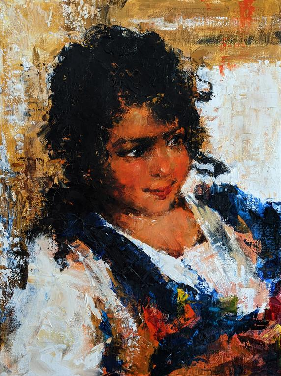 "Study of Fechin's ""Girl"""