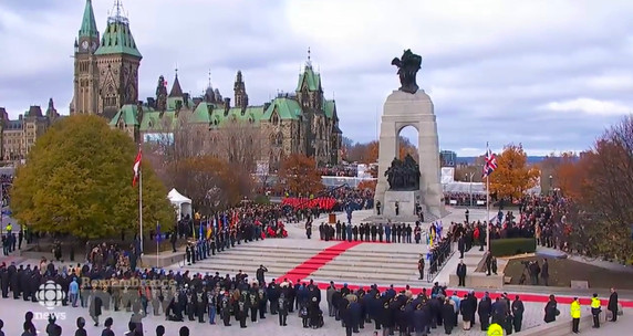 On November 11, 2016, Olivia represented the youth of Canada at the National Remembrance Day Ceremony at the National War Memorial. She followed the Governor General of Canada, the Prime Minister of Canada, and other national leaders to honour Canadian men and women who have served or still serve the country, as well as those who have sacrificed their lives in the line of duty.