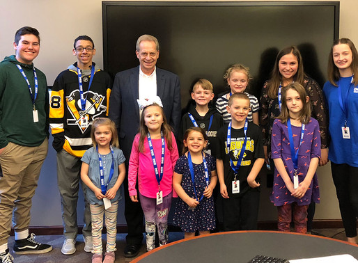 Kids take over DES for Take Our Daughters and Sons to Work Day