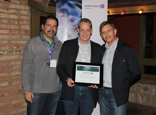 Alcatel-Lucent awards DES Higher Education Partner of the Year