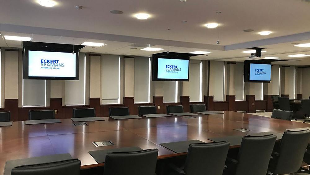 Eckert Seamans new board room