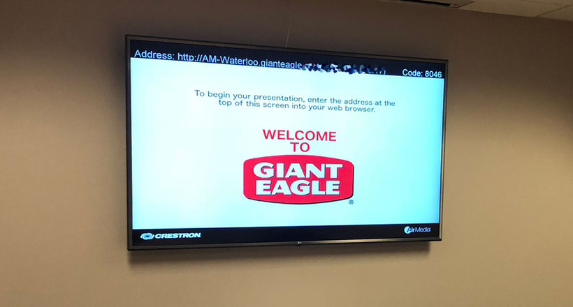 Giant Eagle Corporate Headquarters - Digital Signage