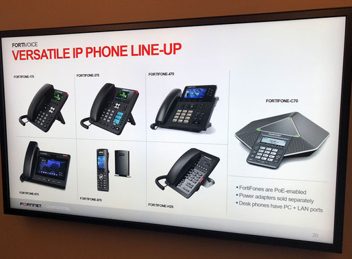 Dagostino Electronic Services now selling Fortinet FortiVoice phone systems