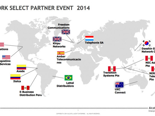 DES selected as 1 of 2 US partners at exclusive Alcatel-Lucent event