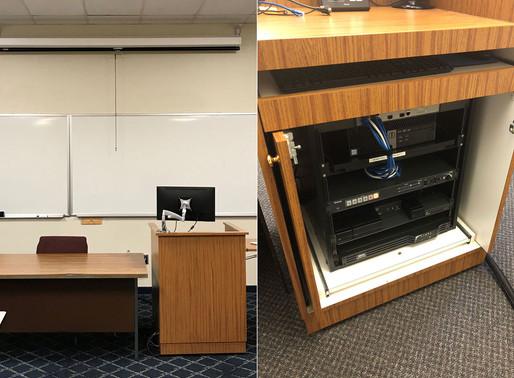 DES standardizes classroom technology at Mercyhurst University