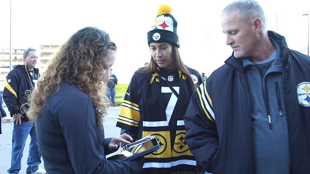 Steelers Nation Unite Heinz Field Wi-Fi