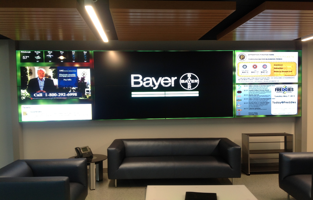 Video Wall: Bayer