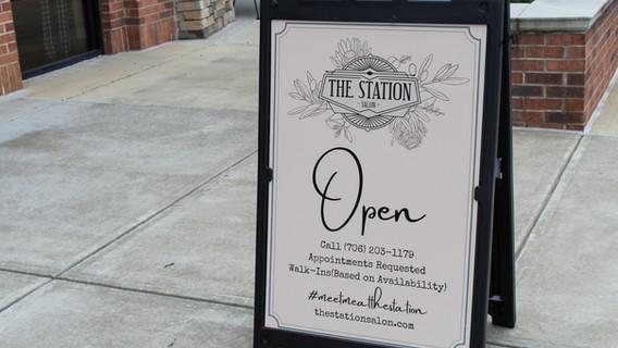 The Station Salon Tour