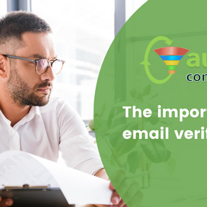 Why you should Verify your email contacts