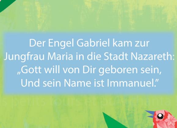 Boîte à musique L'Angelus - Version allemande