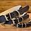 Thumbnail: Halsband schwarz-beige
