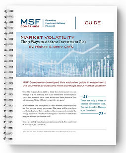MSF Market Volatility Guide Cover Image