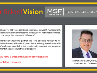 MSF Featured Business - ConfidentVision