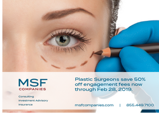 Extended! MSF Offering 50% off Fees For New Clients through FEB 28th!