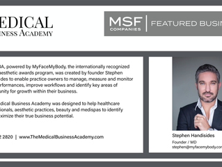 MSF Featured Business- The Medical Business Academy