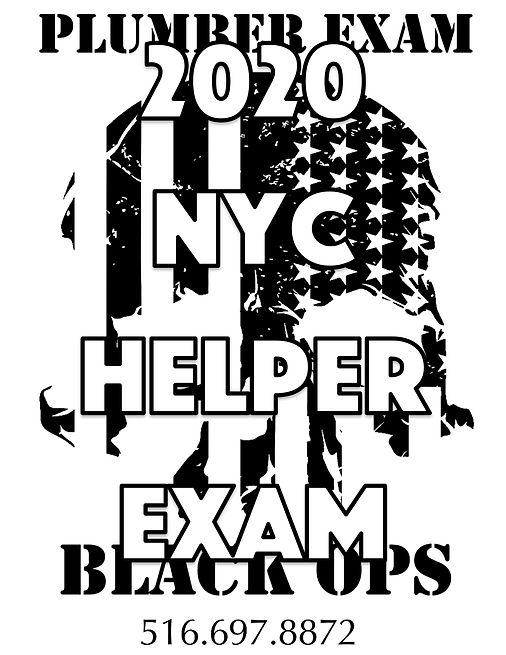 Plumber Exam Black Ops flyer