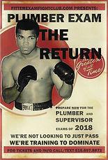 Plumber Exam the Return flyer
