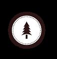 Tree Badge Vit