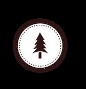 Tree Badge White
