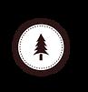 Дерево Знак Белый