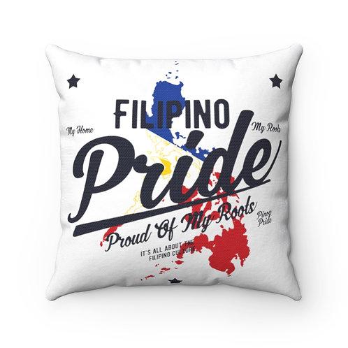 Filipino Pride - Spun Polyester Square Pillow