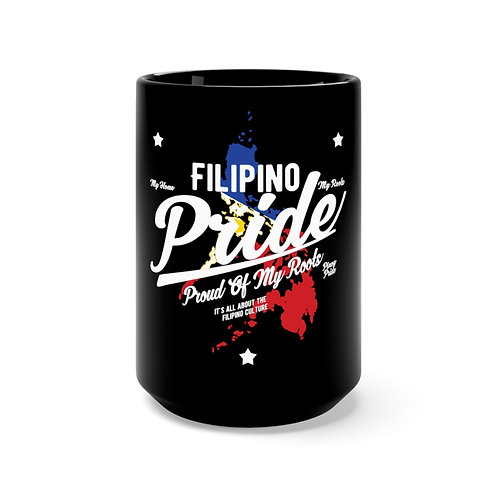 Filipino Pride - Mug 15oz (Black)