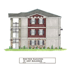 3-Story Building - Side View