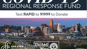 COVID-19 Regional Response Fund Distributes $1 million to Nonprofits Providing Crisis Relief