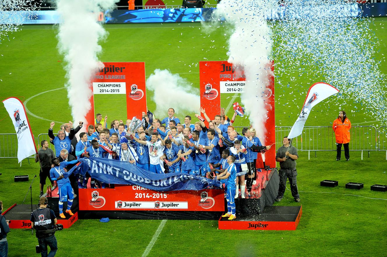 Kaa Gent kampioen