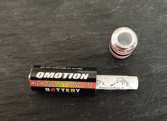 kleines Batterieversteck für Micrologbuch