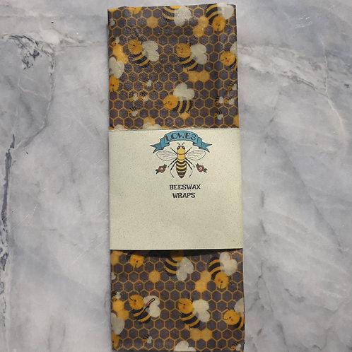 Beeswax Mini Wrap, 15cm x 15cm