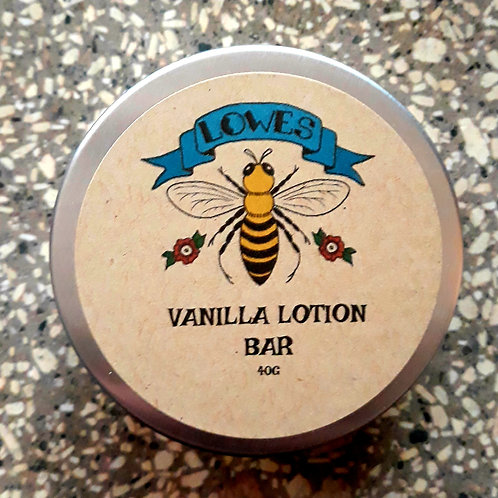 Vanilla Lotion Bar 40g