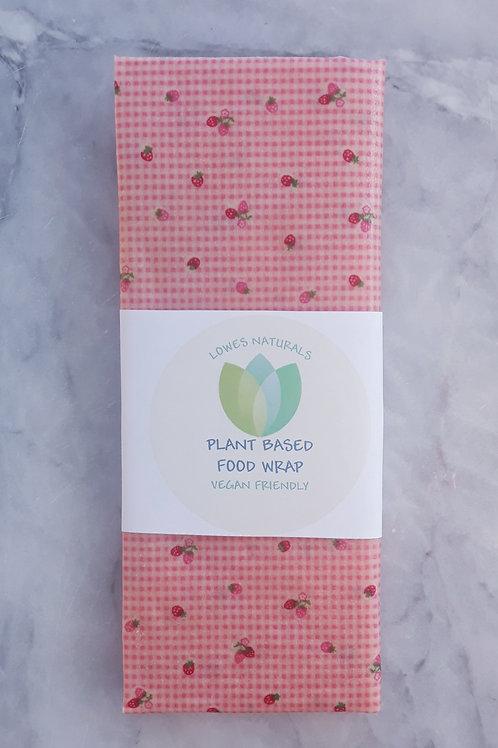 Vegan Medium Food Wrap, 25cm x 30cm