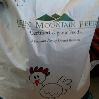 Bag of Green Mountain Feeds' Organic Poultry Feed
