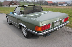 MB 280 SL 1981 grün
