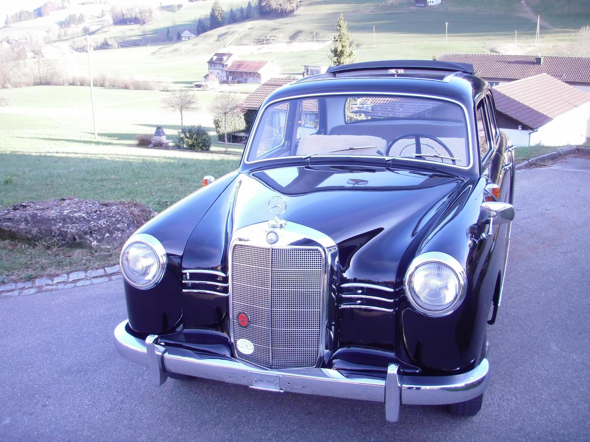 Mercedes 180 Ponton 1954