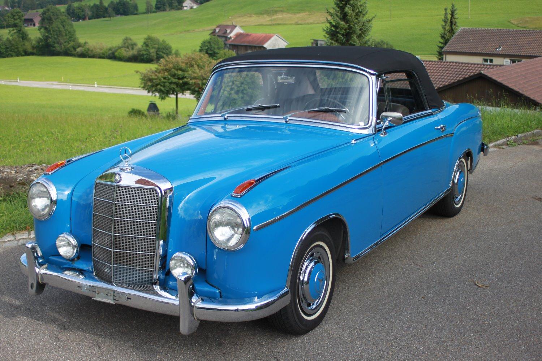 Mercedes 220 SE Cabrio 1960
