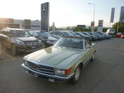 verkauft: MB 500 SL 1980