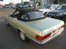 verkauft: Mercedes 500 SL 1980