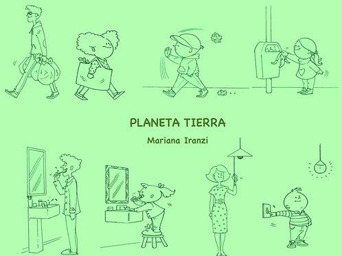 Planeta Tierra Song + Activity Sheet