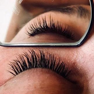 Eyelash Extensions or LVL Lash Lift... w