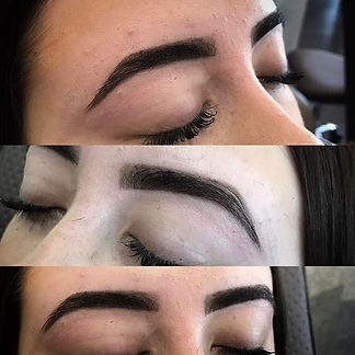 Some of our gorgeous hd brows! #nofilter