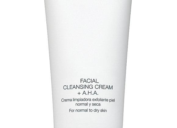 Facial Cleansing Cream + AHA