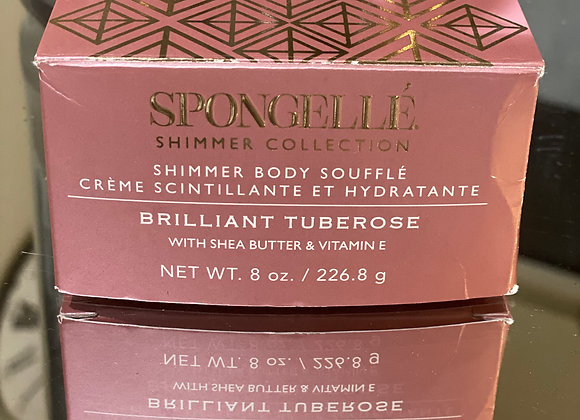Shimmering body butter