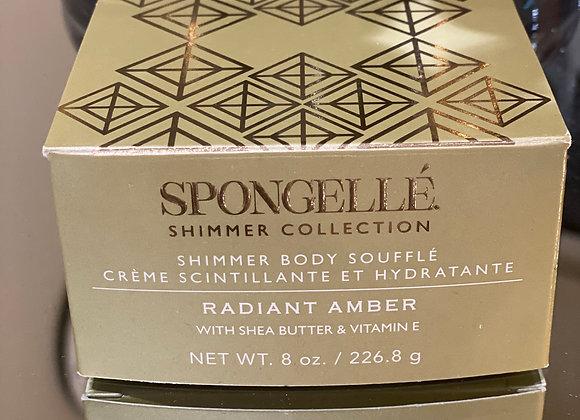 Shimmer body soufflé